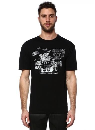 McQ Alexander McQueen Baskılı Tişört Siyah